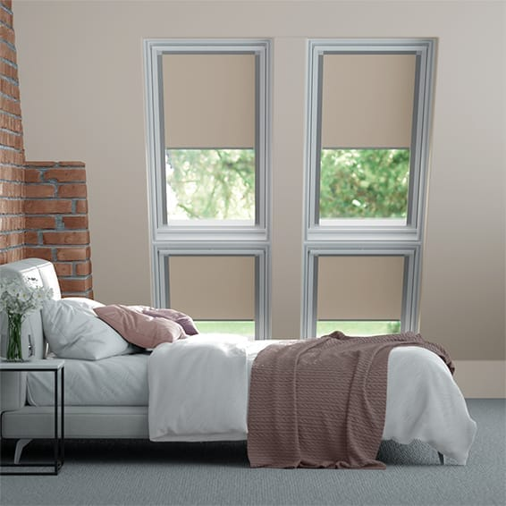 Expressions Licht Taupe Velux® door TUISS