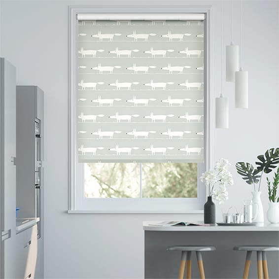 Mr Fox Mini Slate Roller Blind