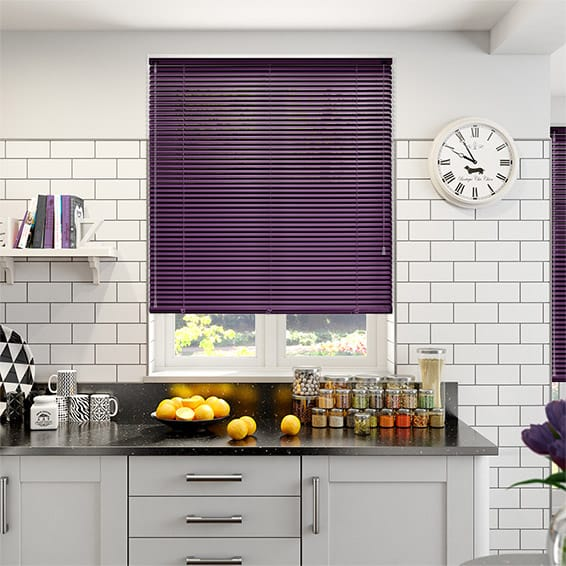 Spirit Dark Grape Aluminium Jaloezie