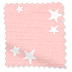 Twinkling Stars Candyfloss roze Vouwgordijn sample image