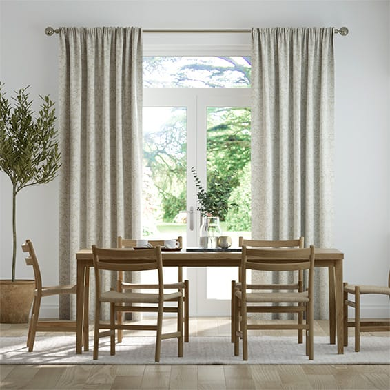 William Morris Zonnebloem Neutral Curtains